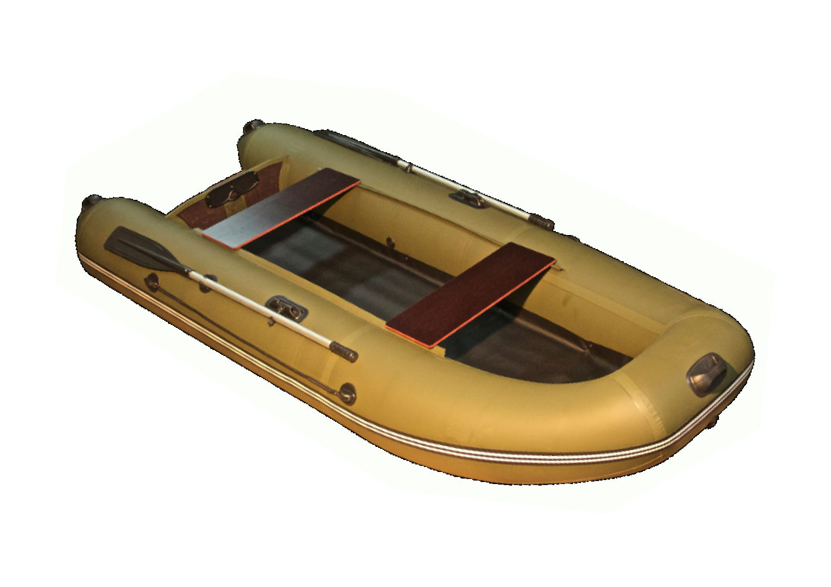 из неподвижной лодки массой 225